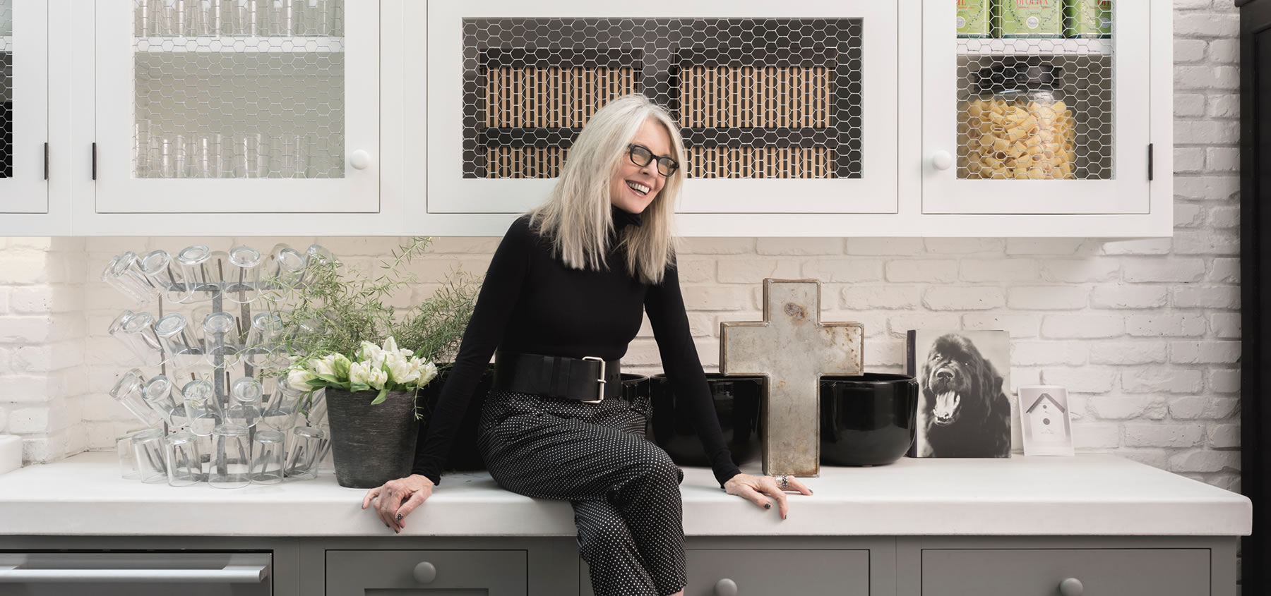 The House That Pinterest Built: A Conversation With Diane Keaton