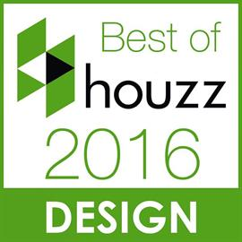 "Surya was honored with a Best of Houzz designation in the Design category based on the popularity of its ""Surya Spaces"" project, which features designer projects that include Surya rugs and accessories."