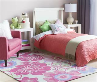 Select from hundreds of colorful in-stock rug designs perfect for children's bedrooms and play spaces.
