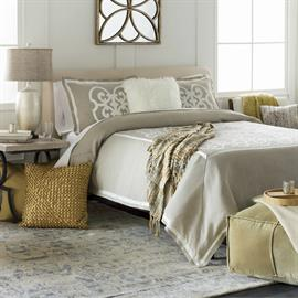 Surya's extensive range of textiles includes pillows, poufs, throws and bedding in an array of trend forward styles, colors, materials and textures – making it easy to create beautifully coordinated spaces for every decor preference and budget.