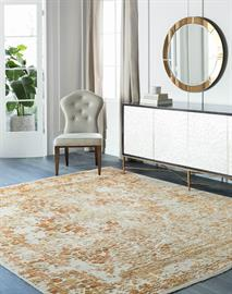 Surya offers hundreds of exquisitely crafted hand-knotted rugs featuring distinctive designs and luxe materials such as silk, bamboo silk and New Zealand wool.