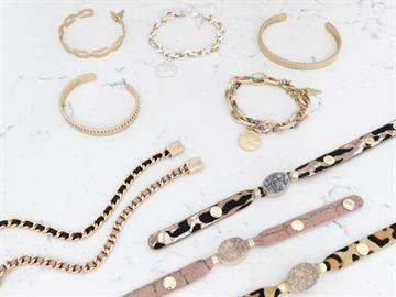 The perfect addition to any stack! We offer metal cuffs, chains, leather cuffs and much more.
