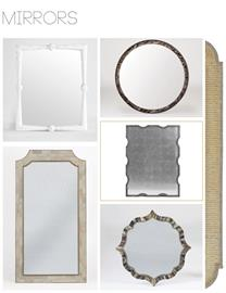 Each transitional wall mirror that we create is modern in design, yet looks and feels like an antique