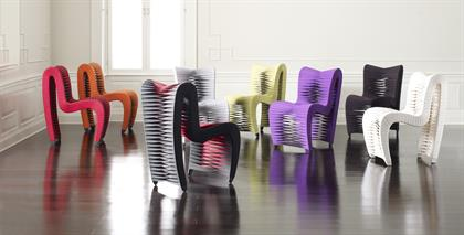 The iconic, award-winning Seat Belt Chairs!