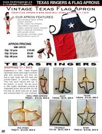 Yes they are finally on the way here.  Our Aprons are the best on the market, just check them out in our Dallas Showroom.  Our authentic Texas Dinner Bells are great for the ranch, lake house or just use in the backyard to let you neighbors know its time to eat.