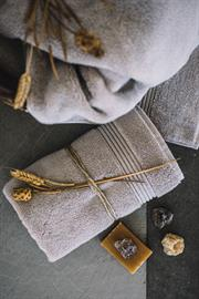 Harmonia is the goddess of Harmony and oneness. The cotton for Harmonia towels come from Aegean Region like goddess Harmonia to create harmony with its amazingly fluffy feeling  and your mood at each touch.