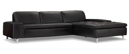 CONTEMPORARY LEATHER SECTIONALS