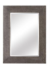 "Wood Frame, 1"" Bevel Edge Glass, Hand finish"