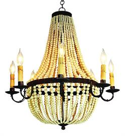 Chandeliers, lamps, sconces and more