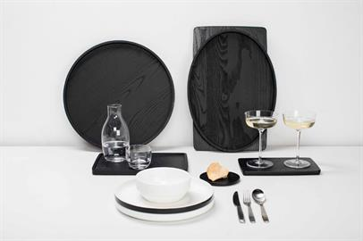 Designed by Vincent Van Duysen as a new hospitality project. Tableware to be used in every setting. A hint of nostalgia while holding a contemporary style.