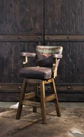 Looking for a high-quality Southwestern barstool that is eye-catching and understated at the same time? If so, look no further than our Navajo Barstool. This fine rustic barstool pays homage to the heritage and tradition of the American Southwest while still complimenting virtually any surrounding décor.