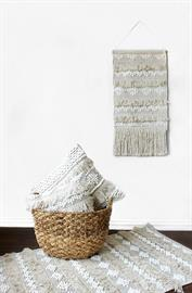 Coastal Bohemian Pillows, Wall Hangings and Rugs