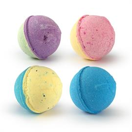 Our bath bombs are created to not only relax the body, but to help stabilize the mood through the CBD receptors within your skin. One bath bomb contains 35mg of active Cannabidiol that leaves your skin feeling smooth. Scents include Lemongrass Kiwi, Citrus, Eucalyptus & Peppermint, and Fresh Bamboo.