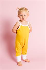 ADD TO CART Checkout with PayPal Sizing Chart Lightweight, breathable and easy to move in for active little one's. Dress up or down - this romper is a must-have for warm-weather wardrobes.