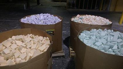 3500 loose solid or mixed bars of soap in one bulk pallet box. Wholesale cost per bar is .37 cents not including shipping