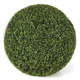 "Polyblend Outdoor Boxwood Ball - Traditional Boxwood Leaf - UV Resistant. Also Available, 20"" Diameter"