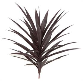 "30"" Yucca Plant with 35 Leaves - Burgundy. Also Available in Limited UV material. Other colors also available."