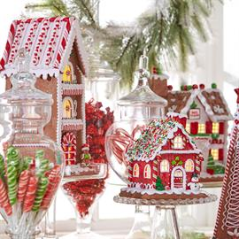 A candy emporium full of Christmas candy favorites