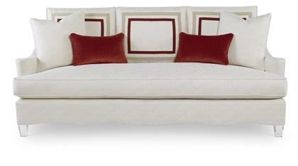 220; The New Atlantic Sofa Is Shown In Calypo (4013 92), A Textured