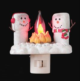 Lighted, whimsical products to enhance your home from night-lights to yard art. New for 2018, USB powered Christmas lights!