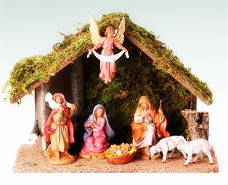 Continue a Christmas tradition with these step by step Nativity Sets.  Beautifully crafted and can be set up in any way.