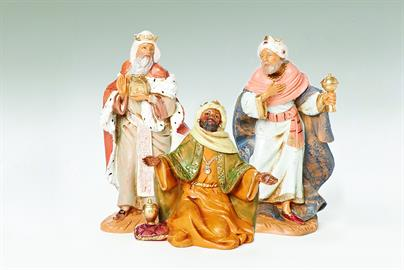 Beautiful and detailed, this collection will fit well with the Nativity scene or stand alone.