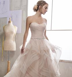 Non-advertised couture construction trending bridal gown styles.