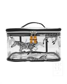 Zebra Headcase a roomy and fun storage cube for makeup