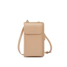 From your phone to credit cards, keep everything in one place with this compact shoulder bag.