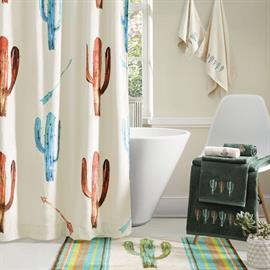 The Cactus Bath Collection transforms your bathroom in bright and colorful southwestern colors.