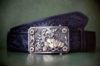 Sterling Silver Belt Buckles