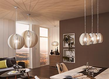 MOUNT -  Pendant FINISH -  Matte Nickel BULB - A19 WATT - 1 x 60 GLASS/SHADE - Maple MODEL SPECIFIC - Dry location, Bulb not included, Field cuttable cord, Dimmer not included