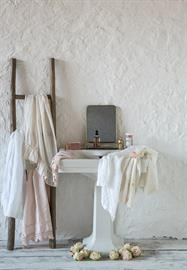 Embroidery, ruffles and lace complete our popular Guest Towels.