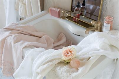 Delicate details of our popular Guest Towels.