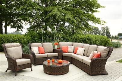 Constructed in double layers, with combination of flat and core durable resin weaving.  High back designs with deep plush cushions to give total luxury comfort.  Havana Club is available in living room pieces, dining room and accessories pieces to cater your outdoor needs.  Optional pieces on Coffee and End Table with Aluminum Top or varies patterns of natural Granite Stone Top for one selection.