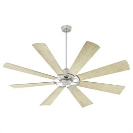 As bold and beautiful as our classic Windmill ceiling fan, but with a modern twist, this contemporary 8-blade design is perfect for mid-sized and larger spaces. The damp-listing allows for installation in outdoor covered areas.