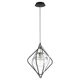Doubling as a light source and focal point in any room, this fixture is the perfect example of fusing function with fashion. Suspended by an adjustable cord, the Gimble pendant is sure to lend an eye-catching appeal to your space.