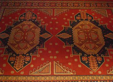 "Sumak Rug Hand Made in Anatolia  100% Wool   Size 7'4"" x 9'3"""