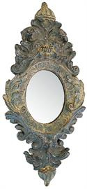 Antique reproduction mirror