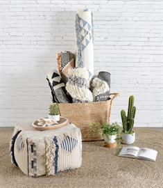 Our Jute Baskets are made from woven natural fibers that provide natural beauty and incredible strength. These handwoven accent pieces can be used as storage or as a decorative accessories that bring artisanal charm to any space.